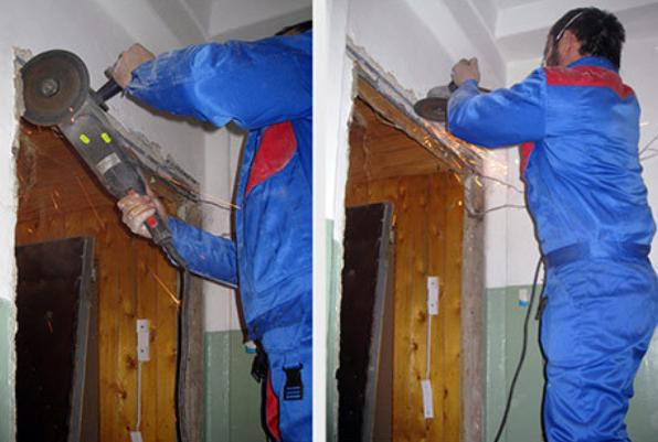 Демонтаж дверных коробок своими руками