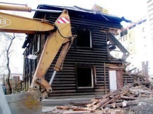 Демонтаж зданий и строений